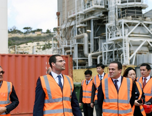 Prime Minister Robert Abela visits Delimara Power Station